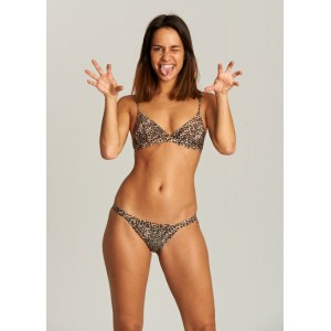 Bikini Sporty Animal Print